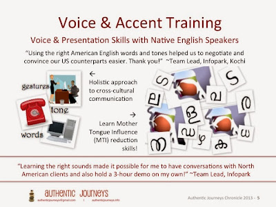 Accent Training for Malayalam Speakers in Kerala