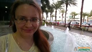 Jennifer Kumar, blog author, at ASV SunTech Park, Chennai