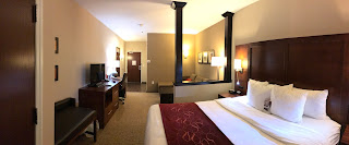 Hotel Suite with Half Partition Wall