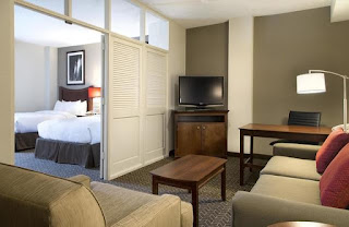 Hotel Suite With Full Walls and Doors. Feels Like an Apartment.