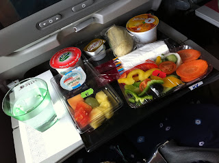 Airline meals.