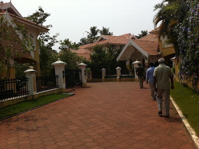 Villa complex in Kochi, India