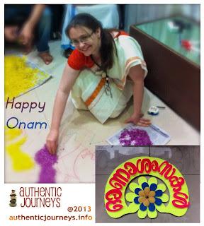 Celebrating Onam at Work in Kerala