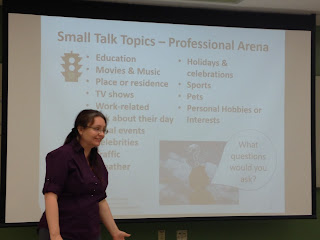 Small Talk Cross Culture Training