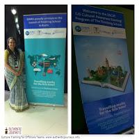 Jennifer Kumar at the kickoff of the US Culture Awareness Training Program in Kochi