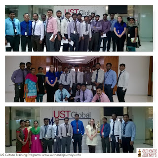 Chennai based IT teams prepare for travel to the USA
