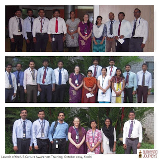 Kochi Infopark professionals ready to go to the United States!