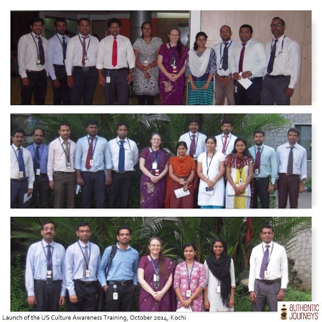 Launching US Cultural Awareness Training Program, Kochi