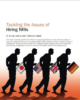 Tackling the Issues of Hiring NRIs