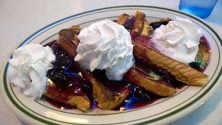 A sweet American breakfast.