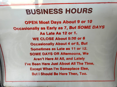 When are you open?