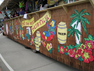 Mardi Gras Float (Tableau)