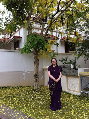 Kerala state flower: Kannikonna Falling on the ground after Vishu