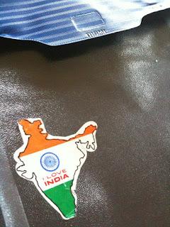 Indian patriotic sticker