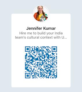 QR Code to Connect on LinkedIn - Jennifer Kumar