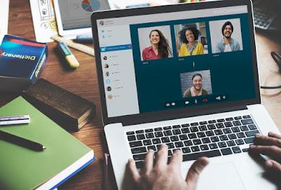 Try to make virtual eye contact in virtual meetings