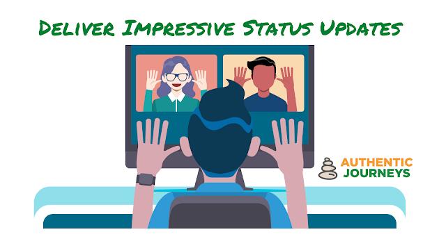 Deliver Impressive Status Updates Training Program